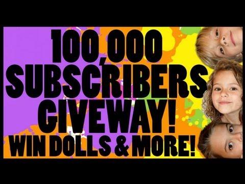 KITTIESMAMA'S 100,000 SUBSCRIBERS GIVEAWAY! 8 PRIZES!!