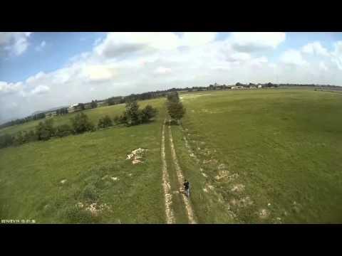 VRX300 takeoff   follow   auto landing