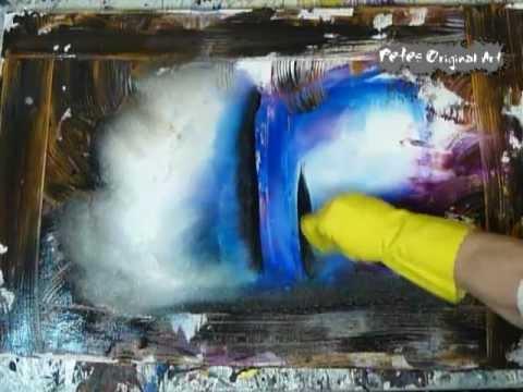 Abstract Art Modern Painting Techniques by Dranitsin at petesoriginalart.com