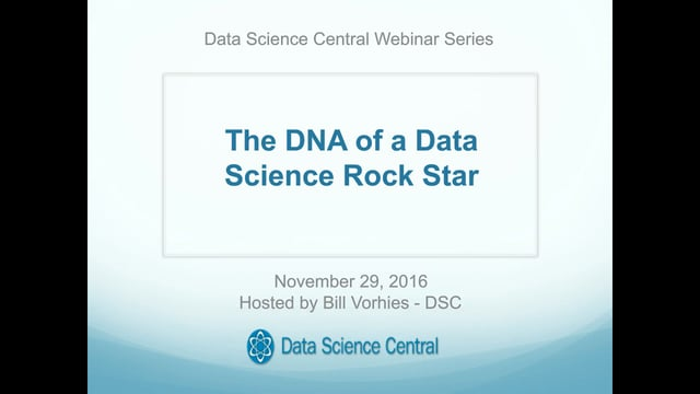 The DNA of a Data Science Rock Star