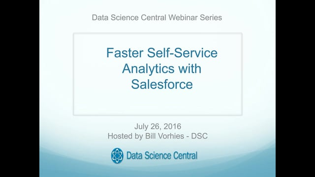 Faster Self-Service Analytics with Salesforce Data & Visualizations