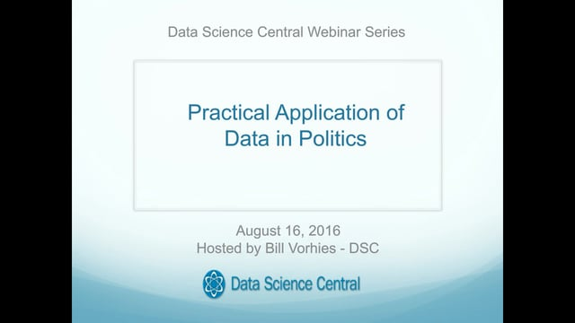 Practical Application of Data in Politics