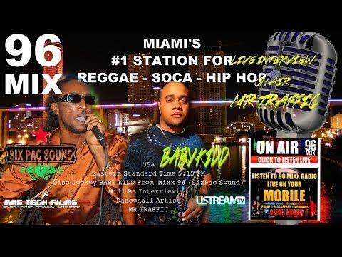 Mr. Traffic INTERVIEW on MIX 96.1 FM by DJ  Baby Kidd Six Pac Sound  3/8/2014