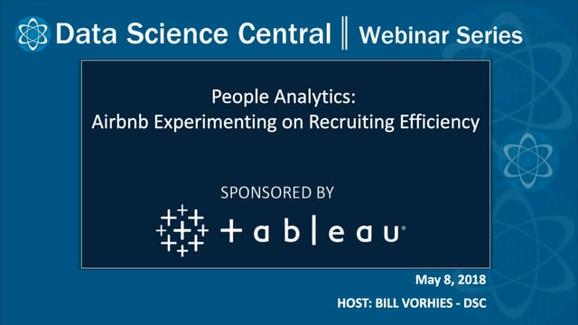 DSC Webinar Series: People Analytics: Airbnb Experimenting on Recruiting Efficiency