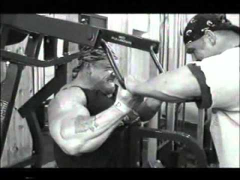 Training- Dorian Yates (Back)
