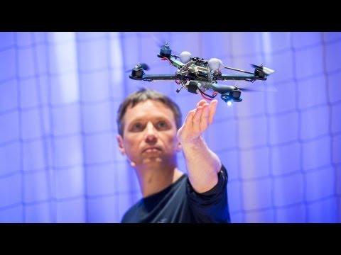 Raffaello D'Andrea: The astounding athletic power of quadcopters