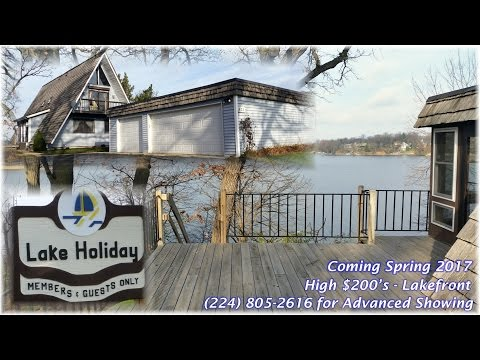 Coming Soon: Spring 2017 - Lakefront Home - Lake Holiday