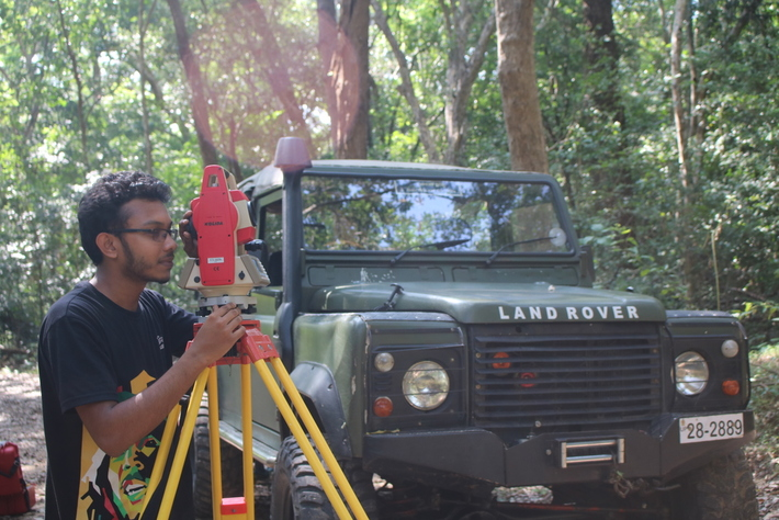 Forest survey in Sri Lanka