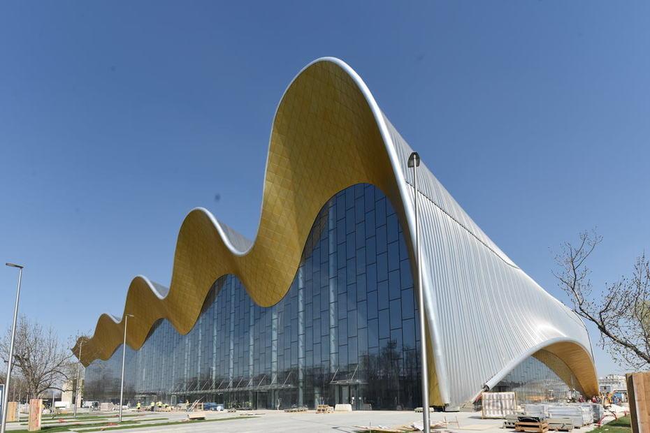 Irina Viner-Usmaniva Rhythmic Gymnastics Center, Moscow, Russia
