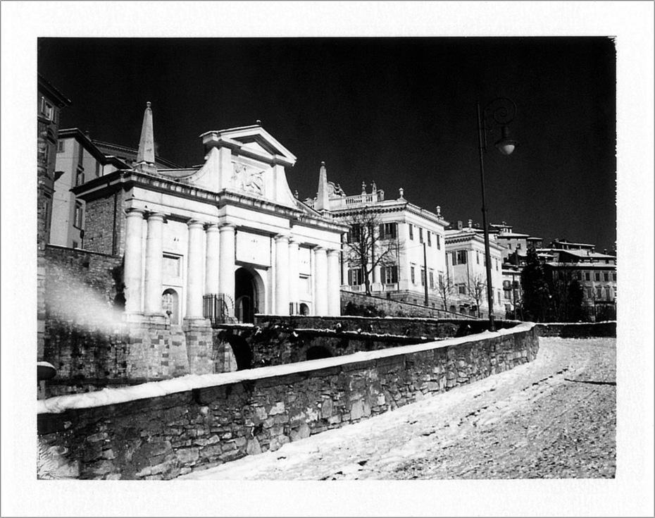 Bergamo,Porta San Giacomo