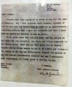 Ghandi's peace letter to Hitler