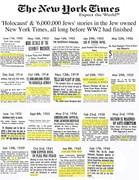 New York Times Six Million