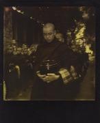 monaco birmano in processione