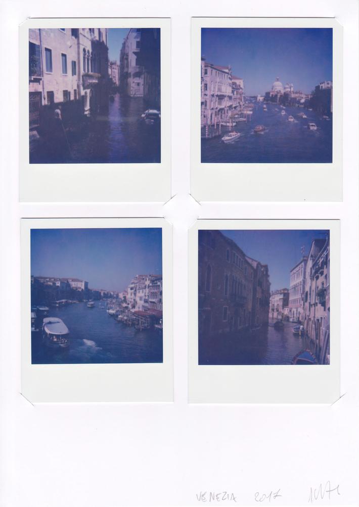 Antistress - Venezia - 4 Polaroid SX-70 (Impossible) - 2017