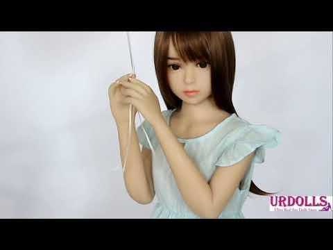 100CM TPE Doll Flat Chest Japanese Girl Akumi Hakumi