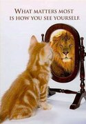 What matters most is how u see yourself