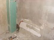 Bathroom under construction