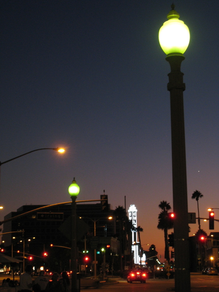 Culver City lights