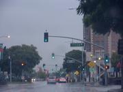 Rainy Day in Culver City