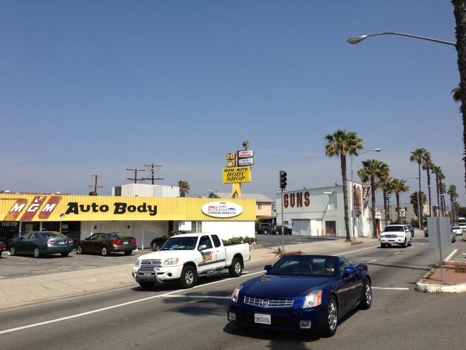 MGM Auto Body in Culver City