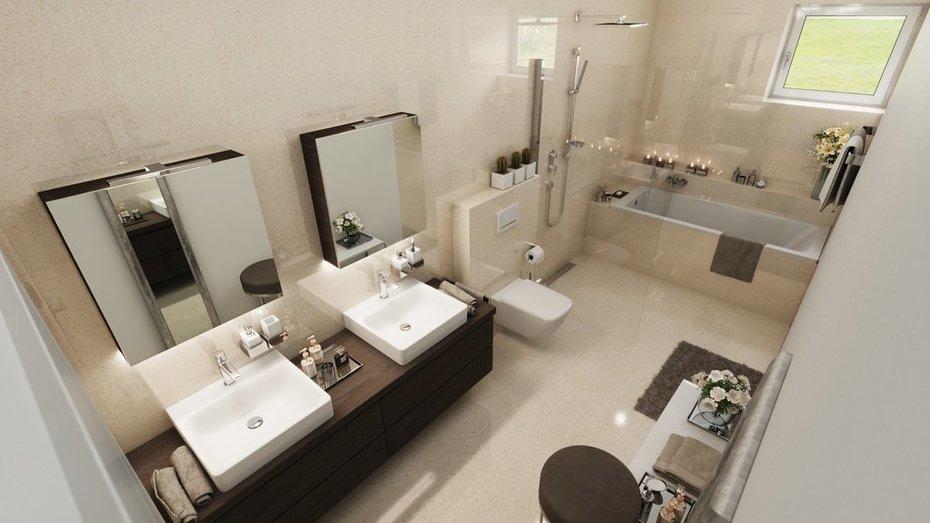 Kúpeľne, návrhy a vizualizácie
