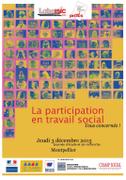 Affiche La participation en travail social