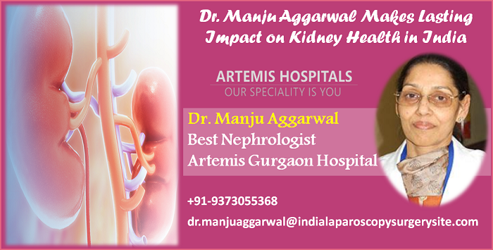 Dr. Manju Aggarwal Makes Lasting Impact on Kidney Health in India