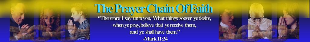 The Prayer Chain Of Faith