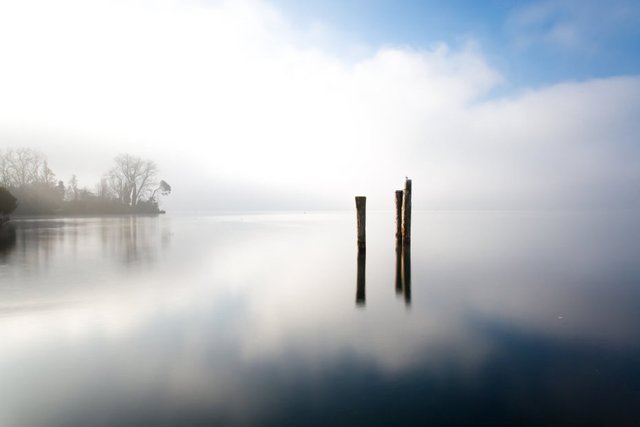 5-3-La Nebbia,Il Cielo e il Lago