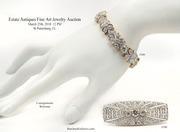 Vintage Estate Antiques, Fine Art and Jewelry Auction