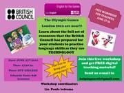 Taller Gratuito para docentes de Inglés- British Council . ENGLSH FOR THE GAMES