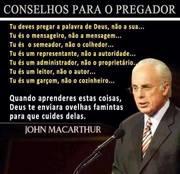 Conselhos para o pregador