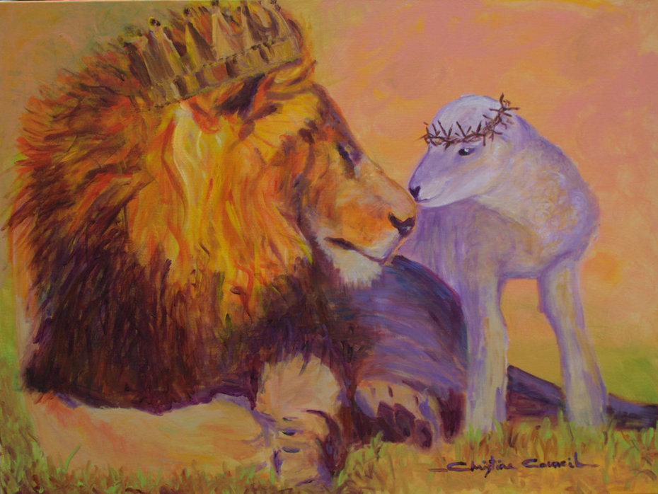 The Lamb that was Slain, Is the Lion that will Reign