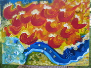 School of the Spirit, Painting Sons and Daughters of God arising 002