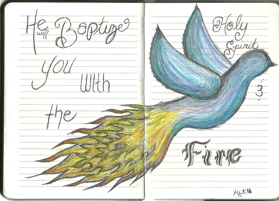 holy spirit: fire and water