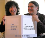 The Idiots Guide to Surviving Teenagers in Black and White