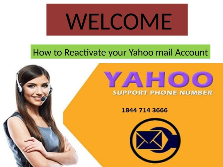How to Reactivate your Yahoo mail Account