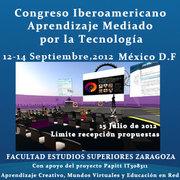 Segundo llamado a Congreso Iberoamericano de Aprendizaje Mediado por Tecnología