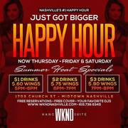 Happy Hour at Wknd Hang Suite
