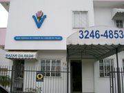 "Sede da ""Rede Feminina de Combate ao Câncer"" de Itajaí."