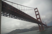 Golden Gate - Looking Up