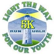 LIGHT THE WAY FOR OUR YOUTH 5K Run/Walk, 2 Mile walk, 1/2mile Kids Fun Run