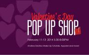 Valentine's Pop Up Shop