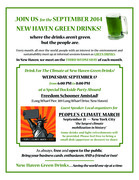 September New Haven Green Drinks -- Dockside Party for the Climate!