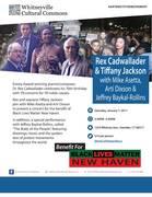 Tiffany Jackson & Rex Cadwallader Benefit Concert for BLMNH