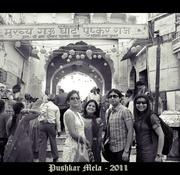 Way to Pushkar Lake
