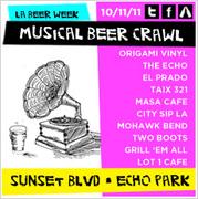 Musical Beer Crawl + LA Beer Week