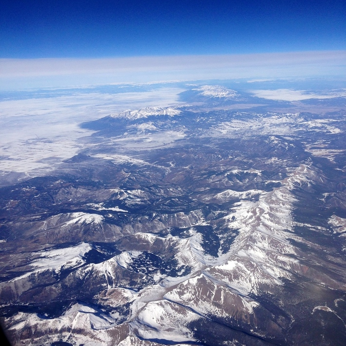 The Rockies- Aerial Shots