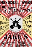 Roffapalooza - FREE Music Festival Headlining Jake's Blues