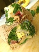 Kale & Cold Cuts Wrap
